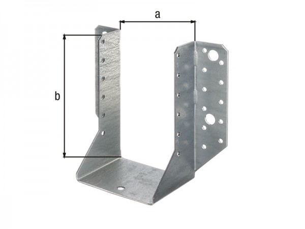 Balkenschuh 100 x 140 mm aussen - ETA Zulassung - Sendzimirverzinkt