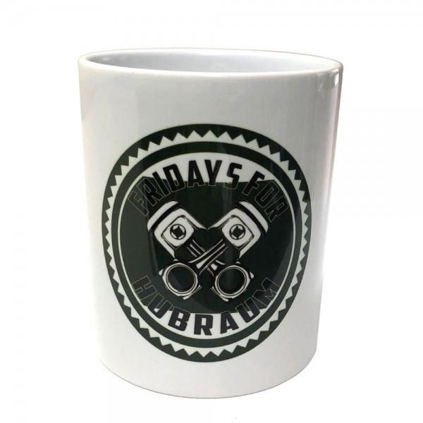 FRIDAYS FOR HUBRAUM Kaffeetassen Doppelpack