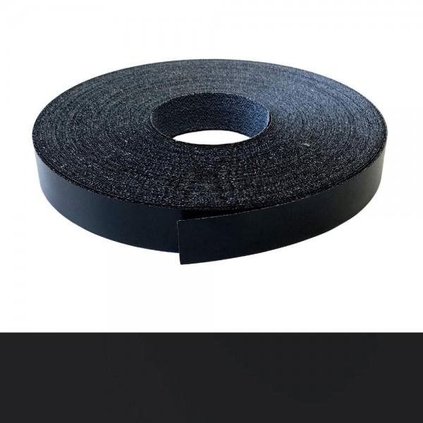 Umleimer, Kantenumleimer - Schwarz glatt matt, Melamin - 22 mm x 5 m