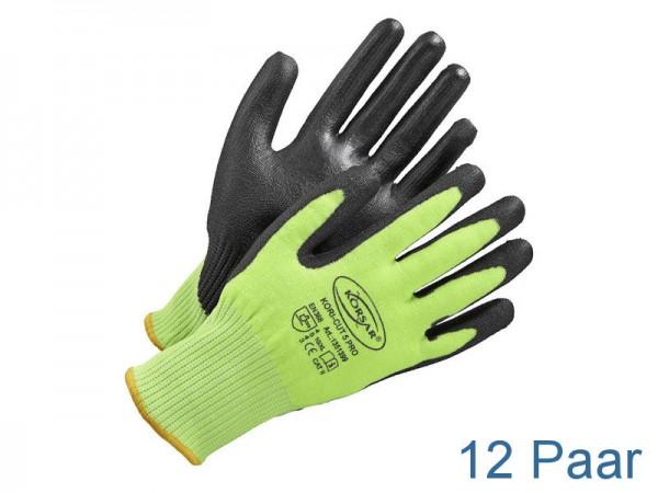 Schnittschutzhandschuhe - KORSAR® Kori-Cut 5 Pro Größe 10 / XL - 12 Paar