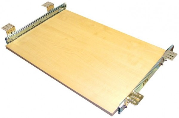 Tastaturauszug in Ahorn Dekor 60 x 40 cm Nutzhöhe 57 mm - Top Qualität