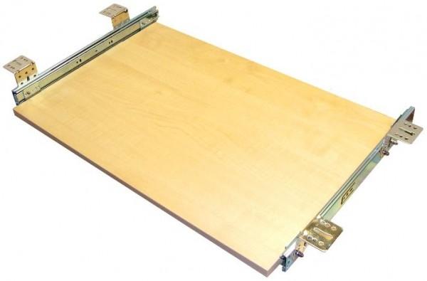 Tastaturauszug in Ahorn Dekor 60 x 40 cm Nutzhöhe 77 mm - Top Qualität