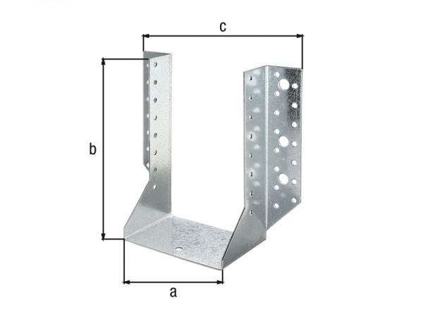 Balkenschuh 120 x 160 mm aussen - ETA Zulassung - Sendzimirverzinkt
