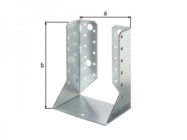 Balkenschuh 100 x 140 mm innen - ETA Zulassung - Sendzimirverzinkt