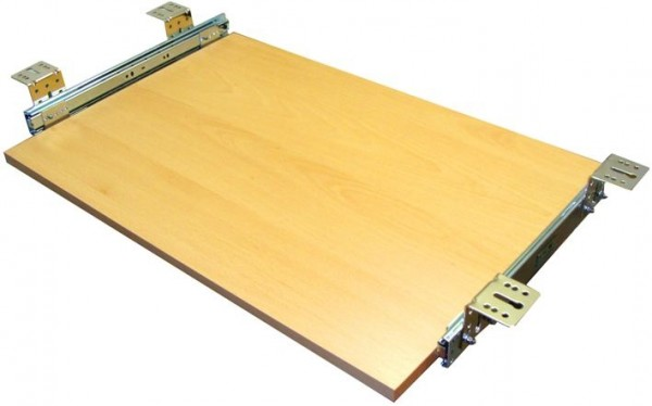 Tastaturauszug in Buche Dekor 60 x 30 cm Nutzhöhe 47 mm - Eigene Fertigung