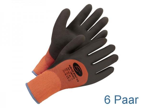 Arbeitshandschuhe Winter - KORSAR® Kori-Ice Intact Größe 10 / XL - 6 Paar