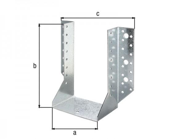 Balkenschuh 140 x 180 mm aussen - ETA Zulassung - Sendzimirverzinkt
