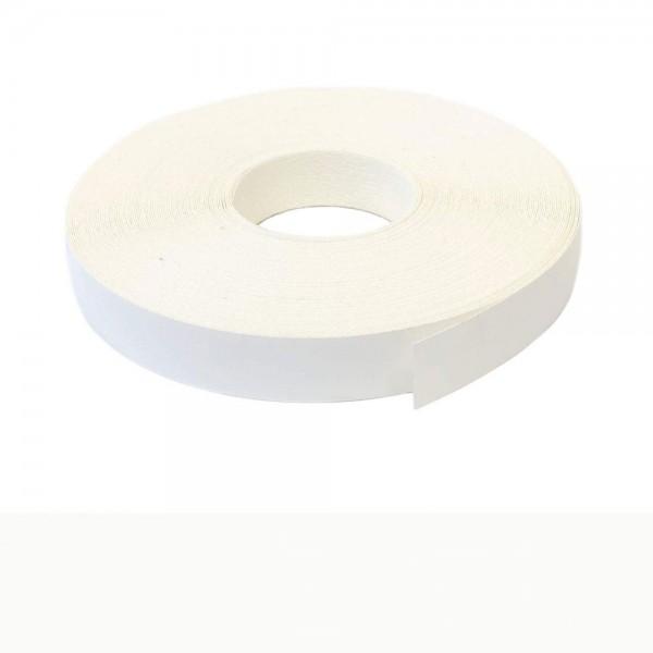 Umleimer, Kantenumleimer selbstklebend, Weiss glatt matt - 22 mm x 10 m