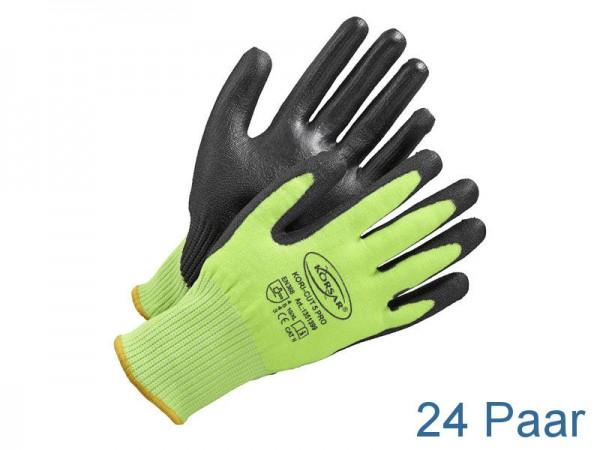 Schnittschutzhandschuhe - KORSAR® Kori-Cut 5 Pro Größe 10 / XL - 24 Paar